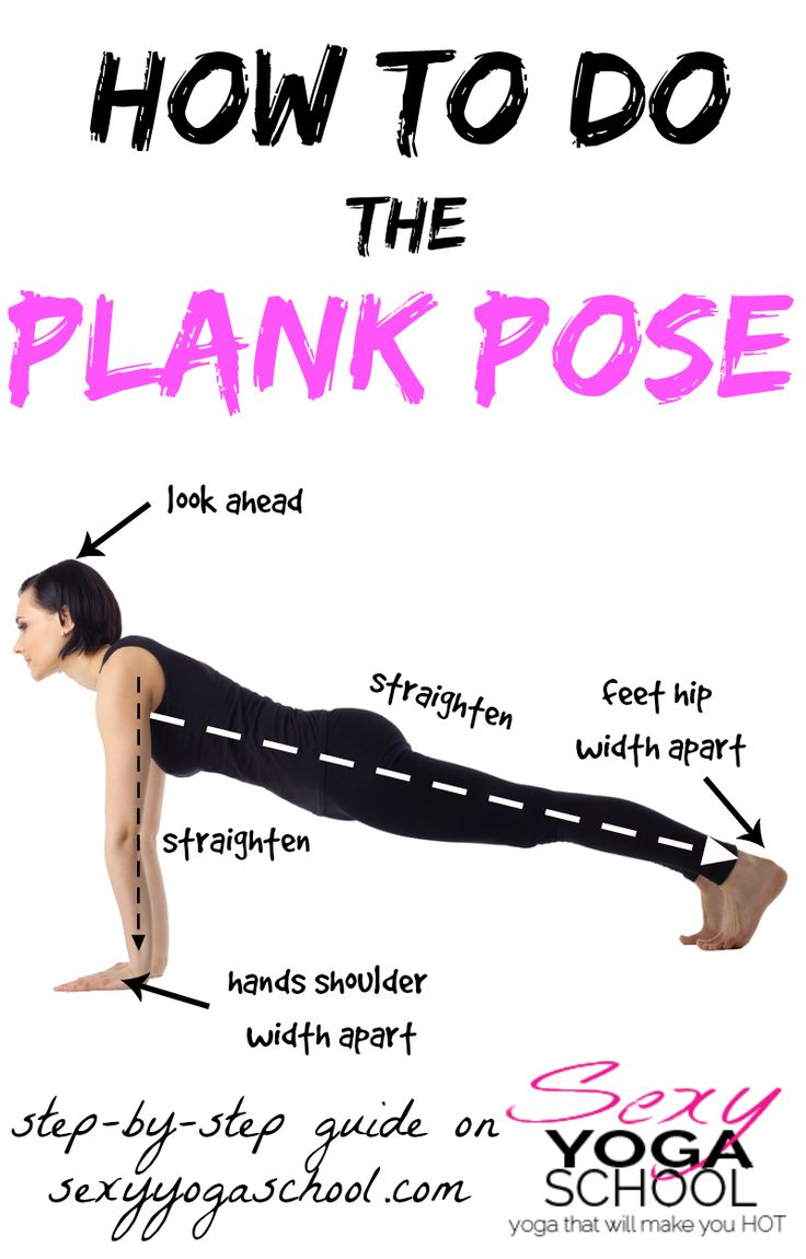 Plank Pose strengthens the core and wrists. Being your gateway to being an amazing yogini, it is important to achieve proper alignment when doing this pose.
