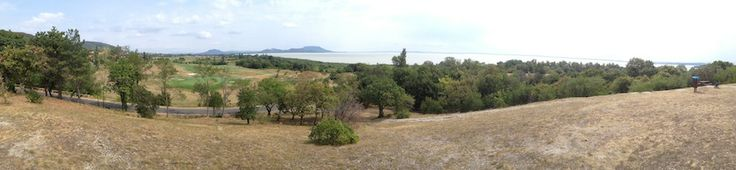 Balatongyorok panarama view - Lake Balaton