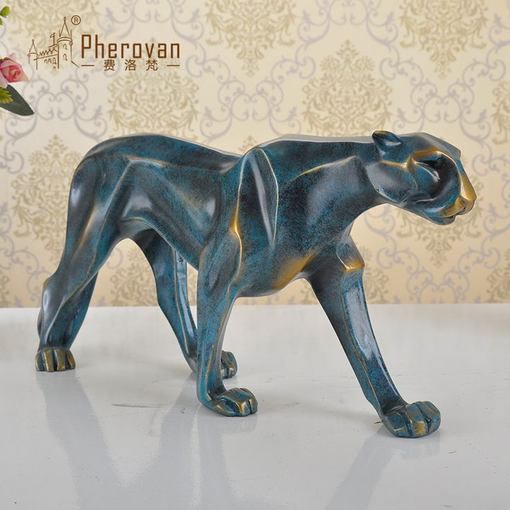 >> Click to Buy << Fee Luofan European leopard ornaments Home Furnishing minimalist living room decorations resin crafts lucky gifts #Affiliate