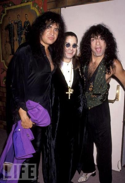 Gene Simmons, Ozzy and Paul Stanley