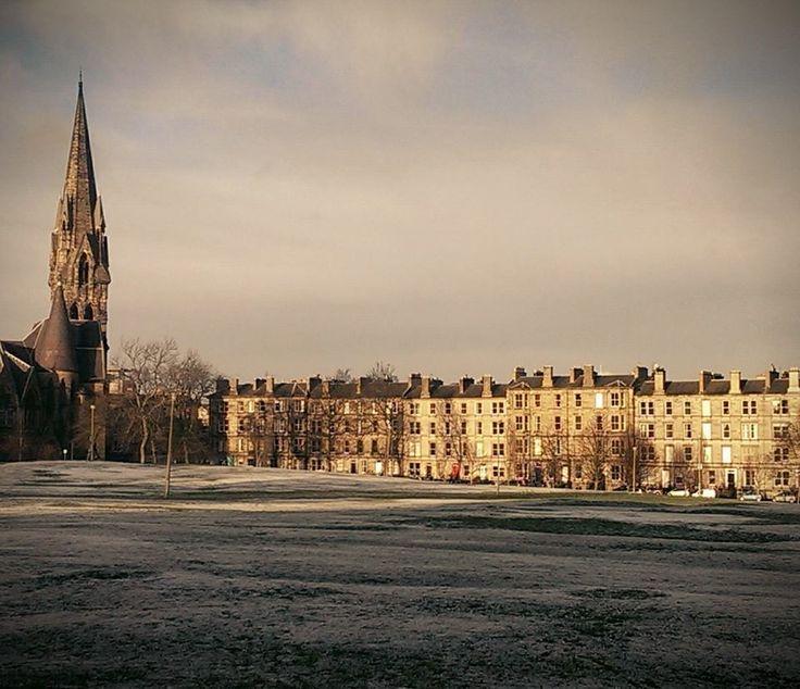 A snowy Bruntsfield Links!