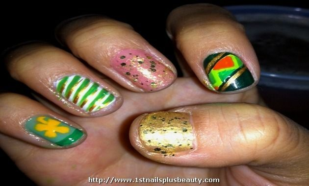Tiger lily nail art picture nail art design pinterest prinsesfo Gallery