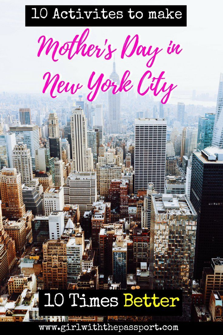 It's almost Mothers day and time to pick out those Mothers day gifts. Well, if you are looking for Mothers day ideas then check out this post. List here are some exciting and totally unique New York City things to do on Mothers Day.