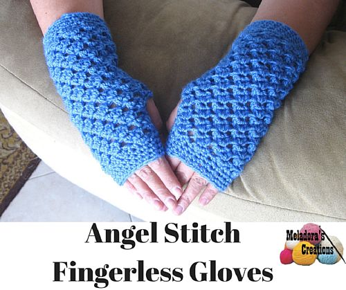 We Love Everything About These Beautiful Fingerless Gloves!