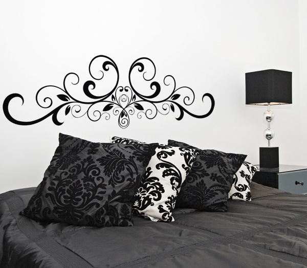 39 best stickers arabesques images on pinterest baroque wall decals and arabesque. Black Bedroom Furniture Sets. Home Design Ideas