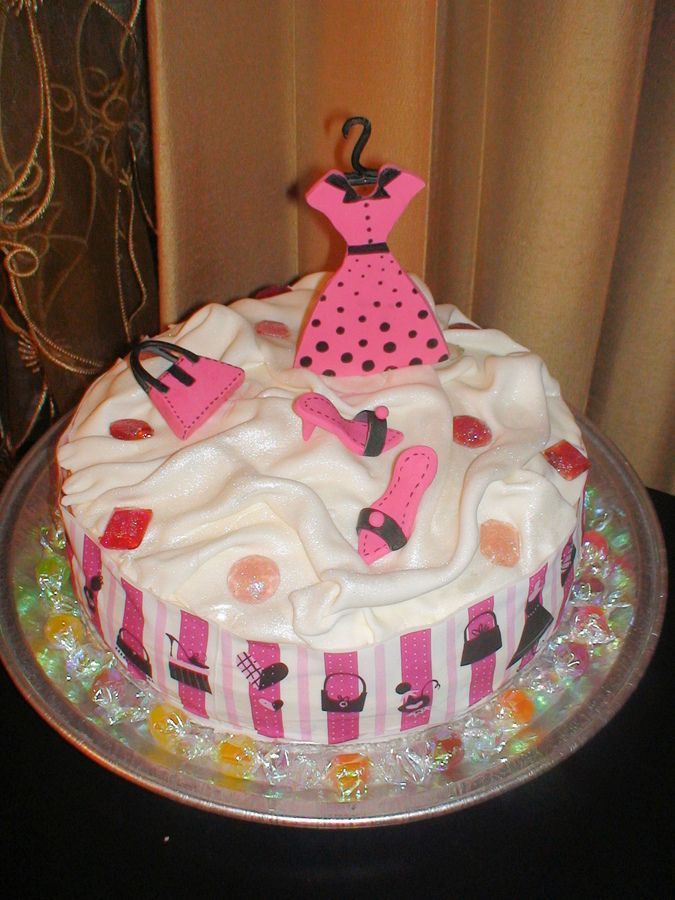 Fashion cake — Birthday Cakes | Different Themed Cakes ...