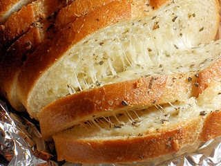 Ooey, gooey, cheesey bread goodness!