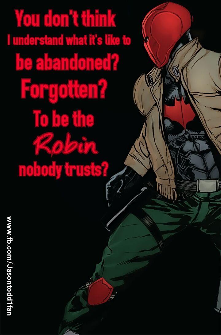 1/26/18  11:50p   DC  Batman  Jayson Todd  aka  Red Hood   fb.com