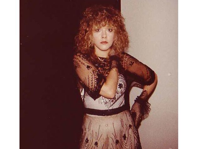 """A Stevie candid from 1983.  """