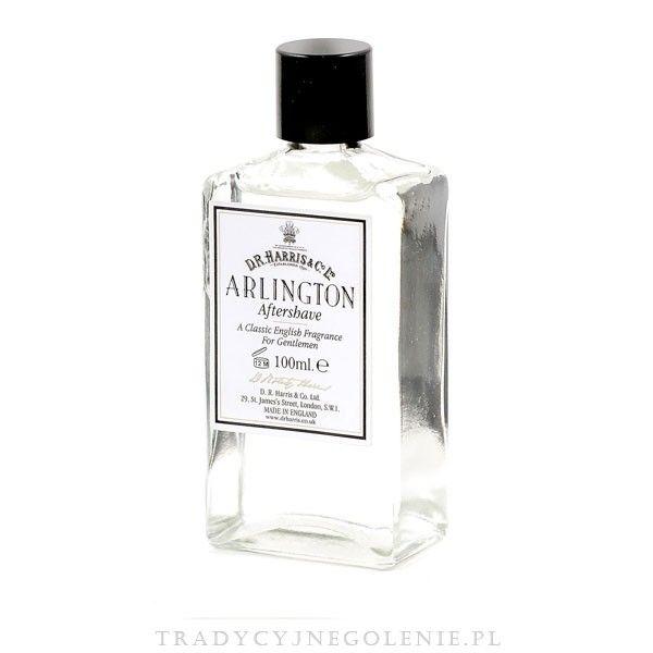 Woda po goleniu Arlington D.R. Harris 100ml. Arlington tosubtelna mieszanka zapachu cytrusów z lekkimi nutami świeżych paproci. Tętniący życiem, subtelny zapach - idealny na dzień.