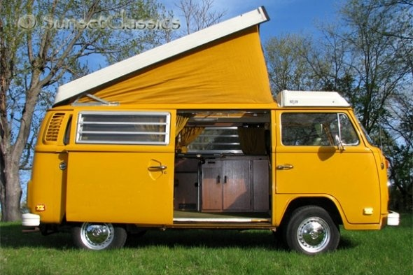 1976 VW Westfalia Camper