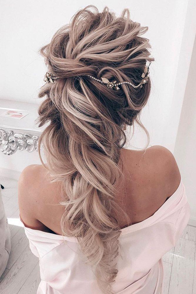 25 Wundervolle Halbe Ideen Fur Hochzeitshaare Fur Halbe Halboffen Hochzeitshaare Ideen Wundervolle Hair Styles Wedding Hair Down Half Up Hair
