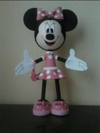 Fofucha mickey mouse y minnie mouse.