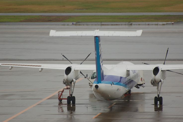 All Nippon Airways Bombardier Dash 8-300 JA801K
