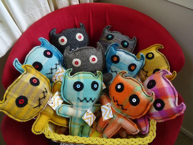 My new Blankie Monsters!