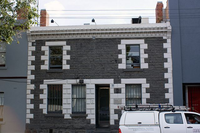 Bluestone Building, Leveson Street, North Melbourne Australia