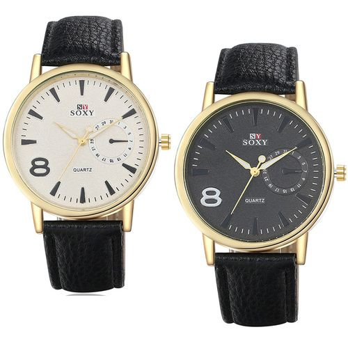 Fashion cool Mens Watch SOXY with dial 8