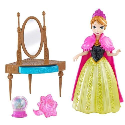Mattel Mattel, Кукла Disney Princess Холодное Сердце - Анна с аксессуарами