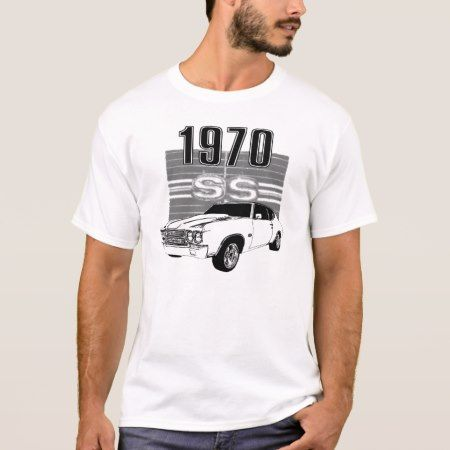 1970 Chevelle SS T-Shirt - tap, personalize, buy right now!