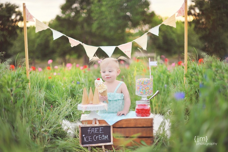 JJM Photography: Little Miss A ice cream photo shoot