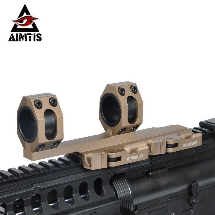 "AIMTIS Tactical Extend AR15 M4 M16 American Optics Defense Rifle Scope 1"" 30mm picatinny rail weaver Ring Mount"