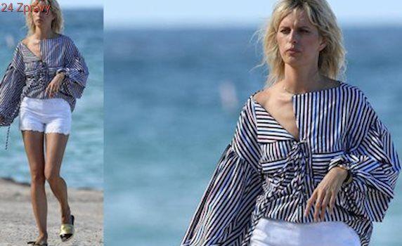Styl podle celebrit: Plážový outfit Karoliny Kurkové vás uchvátí romantikou