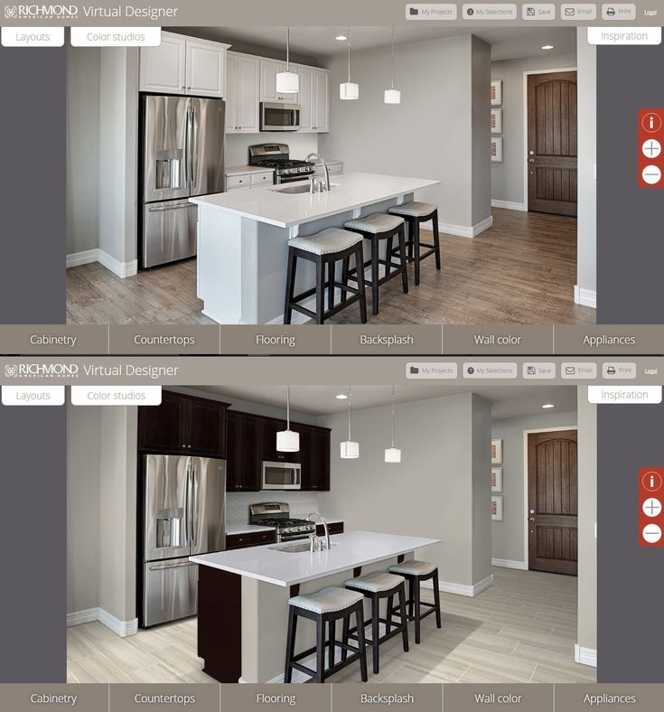 arizona home builder launches virtual kitchen design tool. beautiful ideas. Home Design Ideas
