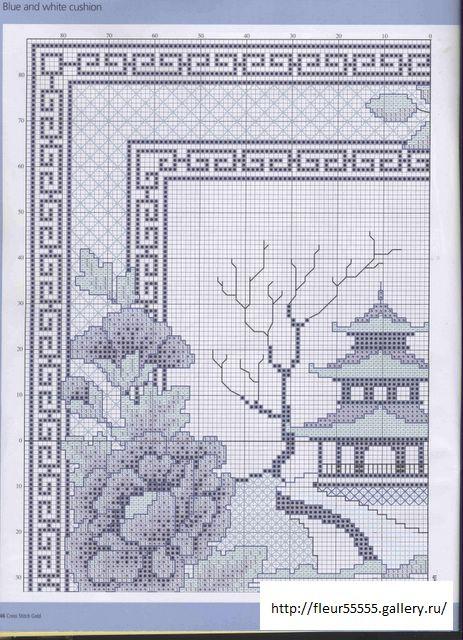 Blue & White Pagoda part 1