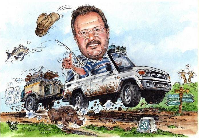 Mynderd Vosloo Cartoon-portraits - Image Gallery