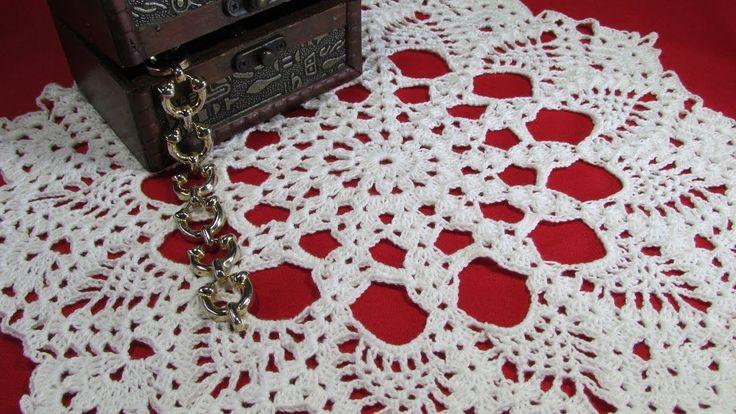 Carpeta de mesa paso a paso a Crochet | Mi Rincón del Tejido