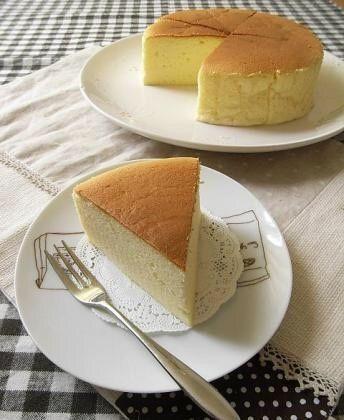 レシピ「スフレチーズケーキ」