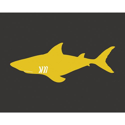 Shark Art, shark nursery art for boys 13 x 19 Print - customizable colors