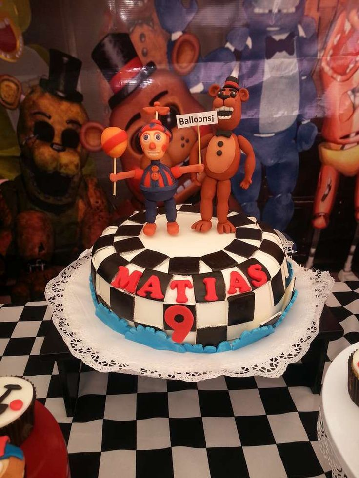 Five Nights At Freddy¨s Birthday Party Ideas | Photo 1 of ...