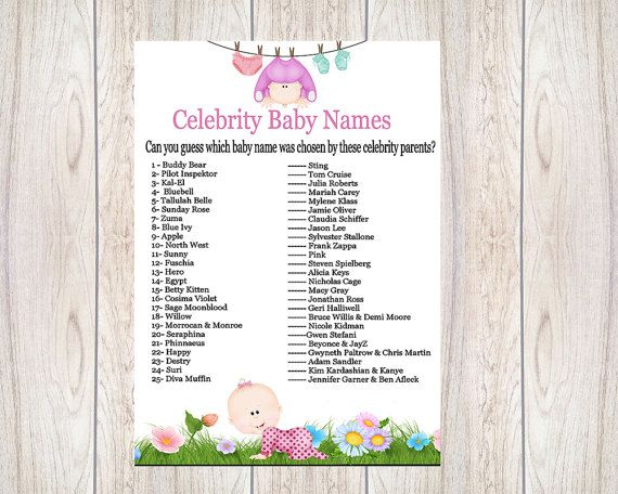 Celebrity Baby Names - Baby Names | Nameberry