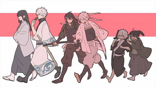 Tags: Anime, Gin Tama, Sakata Gintoki, Katsura Kotaro, Shiroyasha