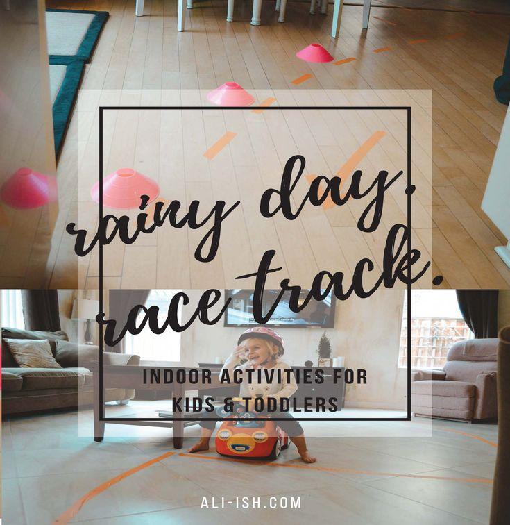 Rainy Day Activities :: Indoor Race Track - ali-ish