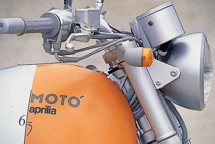 Aprilia Moto 6.5 motorcycle review - Instruments