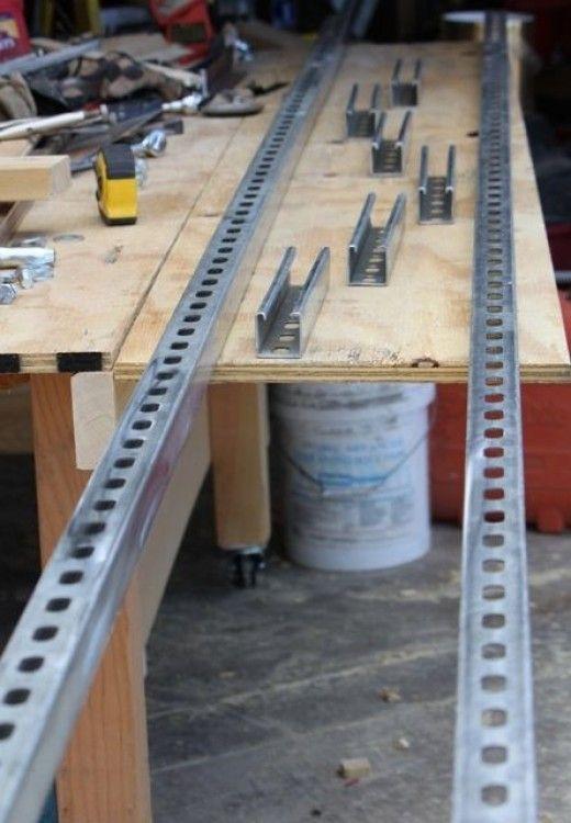 My Granberg Alaskan MKIII Chainsaw Mill Rails