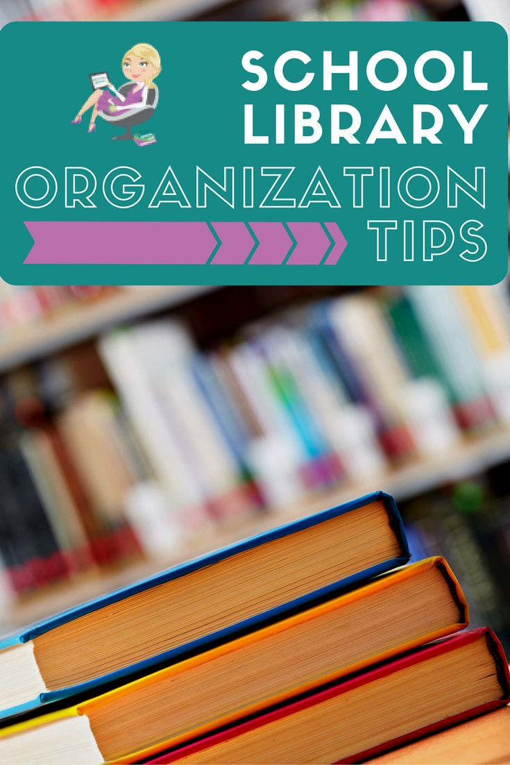 Based on my years of experience, I've come up with a few library organization tips to keep the stress level to a minimum. Read more here...https://elementarylibrarian.com/library-organization-tips/
