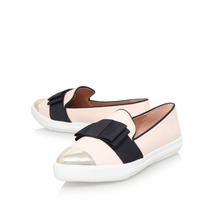 Lisa Nude Flat Low Top Trainers By Miss KG | Kurt Geiger | High Fashion -  Low Profile | Pinterest | Nude flats, Kurt geiger and Trainers