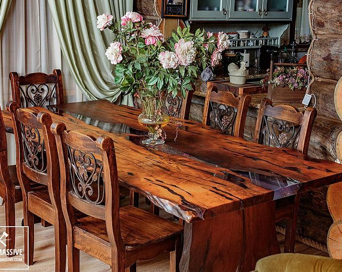 best 25 wood slab table ideas on pinterest wood table tree coffee table and log table. Black Bedroom Furniture Sets. Home Design Ideas