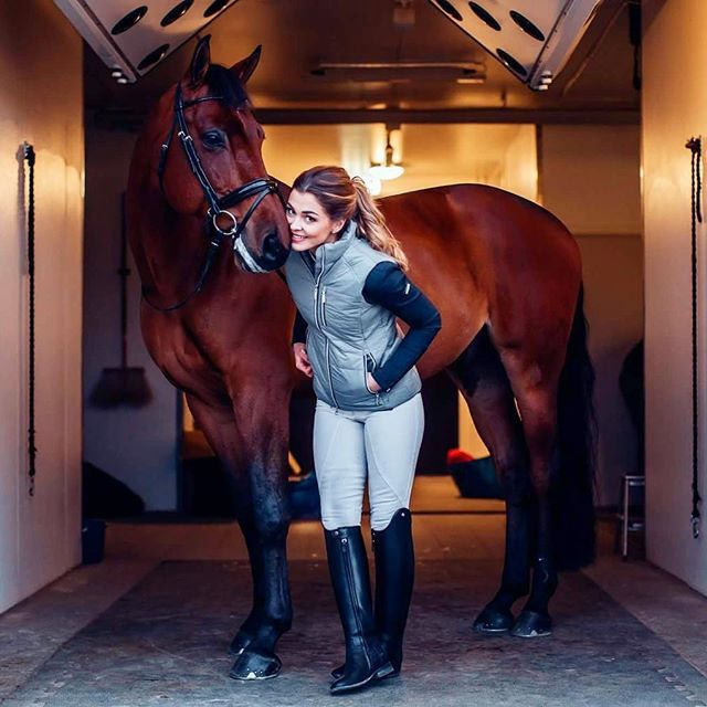Competition season is about to start and It's only 6 days until the collection is released at equestrianstockholm.com (!!) ✨We can't wait! . . . Equestrian vest: Silver grey Competition jacket: Coming soon Breeches: Ultimate dressage white, will relaunch this fall #equestrian #equestrianstyle #horse #horses #equestrianstockholm