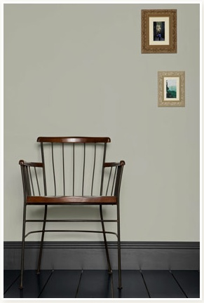 Farrow and Ball Lamp Room Gray & Down Pipe