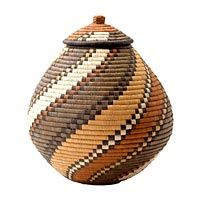 Fair Trade African Baskets and Gifts from Baskets of Africa : Zulu Ilala Palm Baskets, Swazi Sisal Baskets, Zulu Wire Baskets, Ghana Bolga Market Baskets