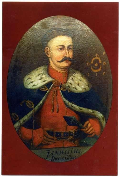 Książę Janusz Ostrogski (1554-1620). Kasztelan krakowski; starosta…