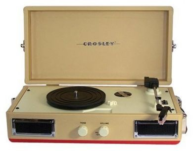 The model cr-40 seemed the best of the crosley portable turntables.  #Electronics #Home Audio and Theater #Stereo Components #Turntables
