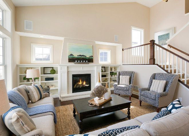Neutral living room paint color and decor ideas how to for Neutral living room decorating ideas