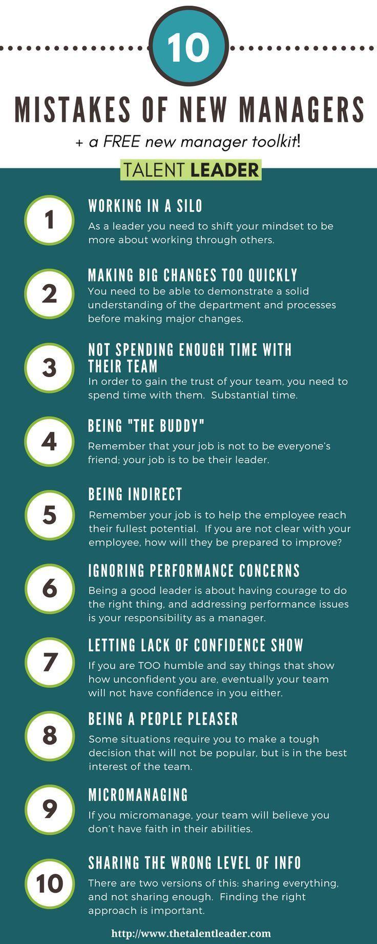Fehler, die neue Manager machen (Teil 2) – #Die #F…