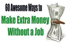 If you are without work and looking for a few extra income streams, this post lists over 60 ways you can make money without having a traditional job...