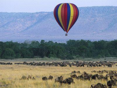 Mara Ballooning | Fully ATOL Protected Kenya Safari Holidays